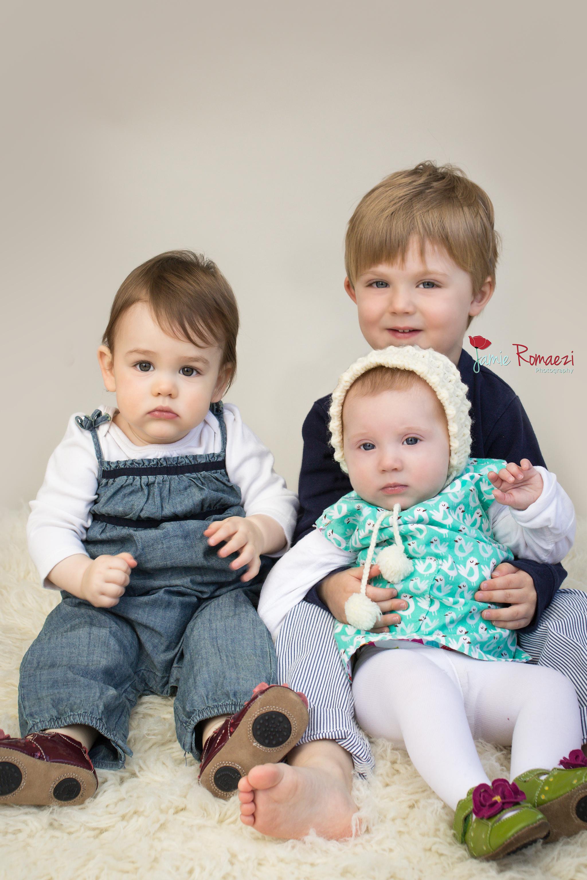 West Family Photos | Northern Virginia Newborn Photographer