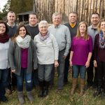 what to wear extended family photos purple, gray, mustard