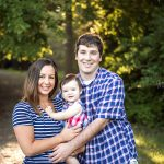 Patriotic styled family photos.