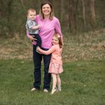Outdoor First Birthday Family Photos, Sterling, VA