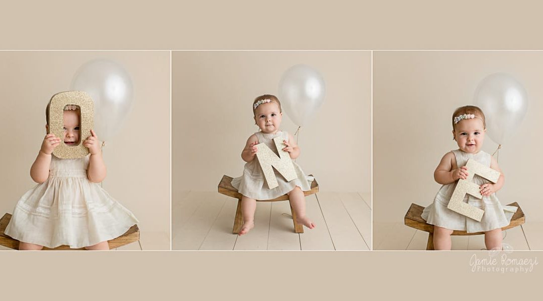 Aria's First Birthday Milestone Session!