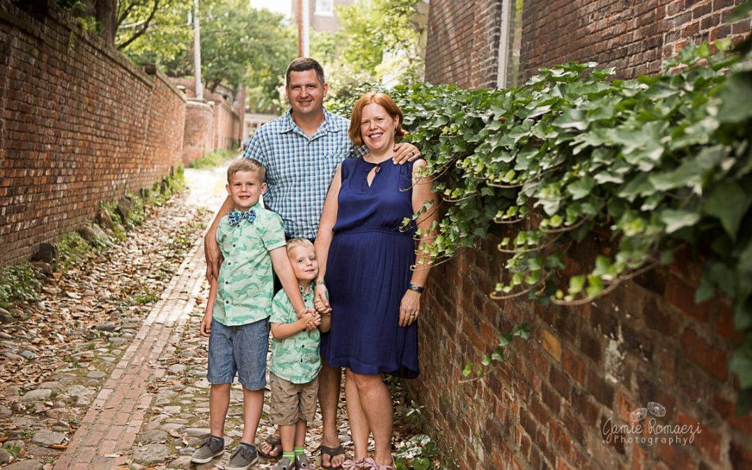 Urban Photo Session in Old Town Alexandria